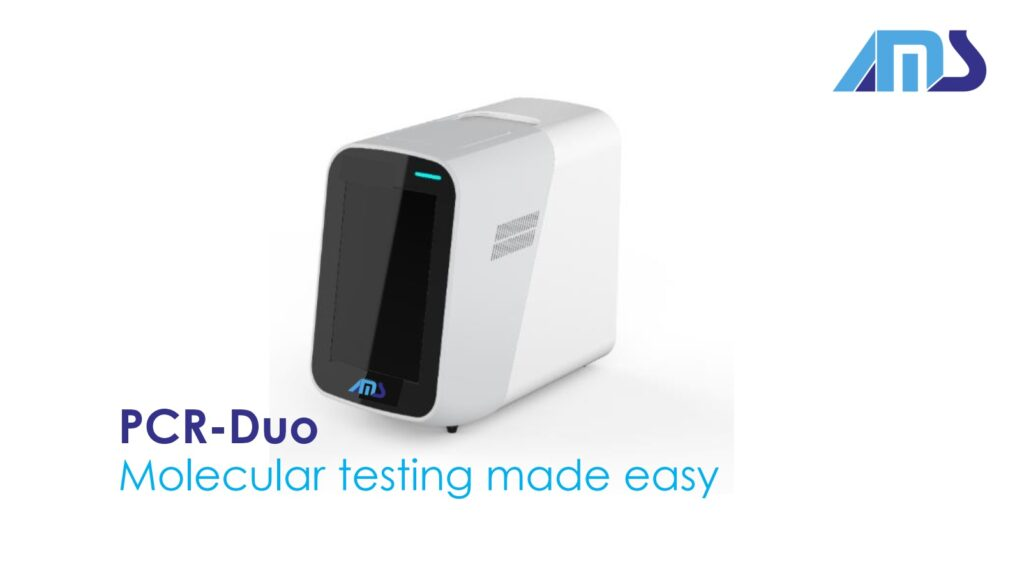 AMS PCR Duo analyser